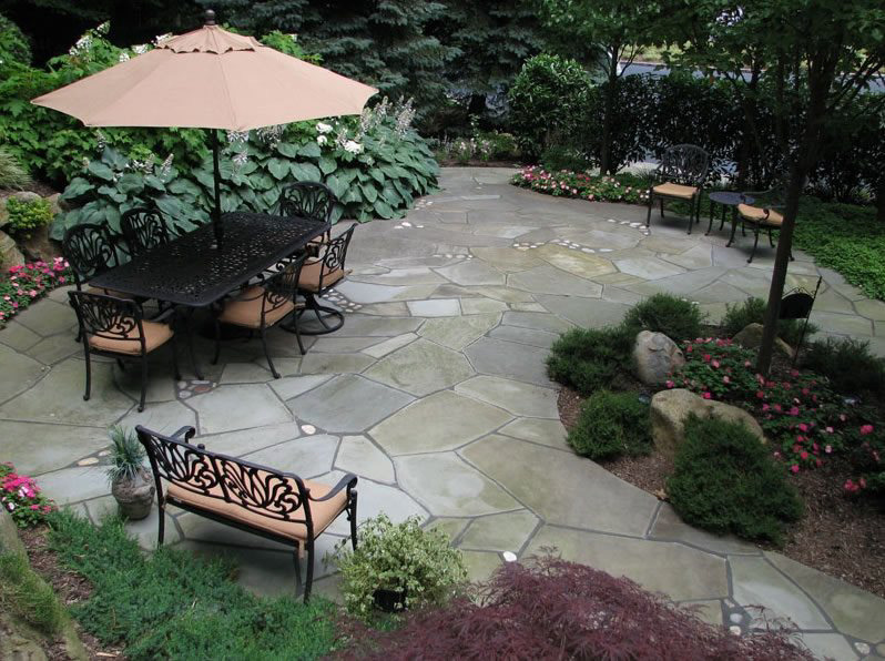 beautiful paved patio in Surrey BC